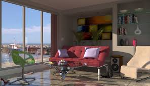retro livingroom cgarchitect professional 3d architectural visualization user