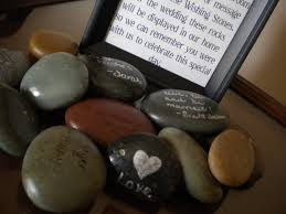 wishing stones wedding the pretty wedding wishing wedding guest book