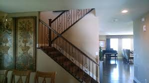 Refinish Banister Railing Iron Railings Parker Baluster Denver Wrought Staircase Colorado