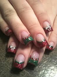 30 festive christmas acrylic nail designs christmas nail art