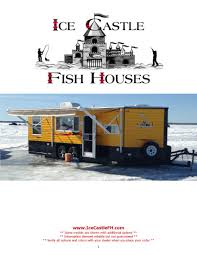 ice castle ice castle fish houses for sale