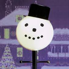 Christmas Outdoor Decorations On Sale christmas decorations lamplighters snowman outdoor lamp post