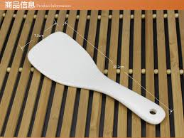 aliexpress com buy plain white bone china rice cooking shovel