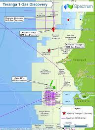 Senegal Map Kosmos Teranga 1 Gas Discovery Offshore Senegal Spectrum Geo