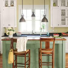 colorful kitchen islands stylish kitchen island ideas southern living
