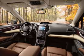 subaru touring interior 2017 los angeles auto show u2013 2019 subaru ascent unveiled