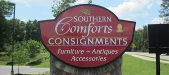Southern Comforts Consignment Alpharetta Cabinet Signs In Atlanta Ga Apex Signs And Graphics