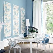 blue and white dining room room envy