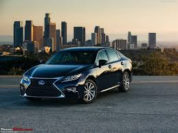 lexus india toyota india imports an es300h first offering from lexus team bhp