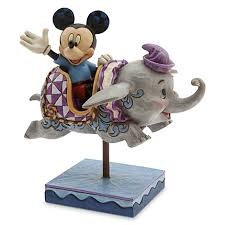 jim shore figurine mickey mouse and dumbo