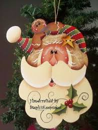 the decorative painting store letter to santa gingerbread