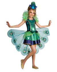 costumes at party city for halloween peacock girls childs costume u2013 spirit halloween peacock costume