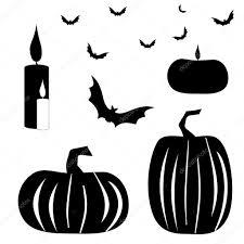 halloween background silhouettes halloween silhouettes u2014 stock vector tina mak 7021458