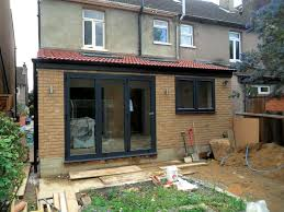 rear extension bifold doors and window google search kitchen