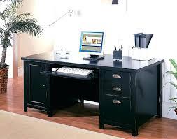 Black Corner Computer Desk With Hutch Wood Corner Computer Desk Fire Totem Wood Corner Computer Desk