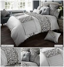 verina duvet cover bedding set 6 colours all sizes available