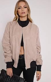 light bomber jacket womens poppie blush suede bomber jacket bomber jacket pinterest
