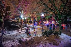 Lincoln Park Zoo Light Hours by Twinkling Photos From Zoolights At Lincoln Park Zoo