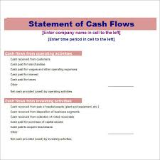 Flow Statement Template Excel Flow Statement Template Excel Accounting Excel Template Excel