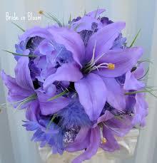 Silk Bridal Bouquets The 25 Best Lavender Bridal Bouquets Ideas On Pinterest Wedding