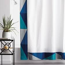 Shower Curtain Teal Shower Curtains The Company Store