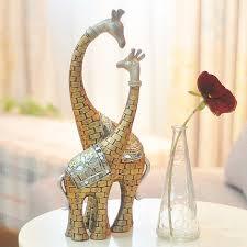 living room ornaments home accessories giraffe retro new