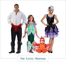 halloween costume for family little mermaid costume set for a family