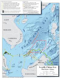 china on a map territorial claims maps the south china sea