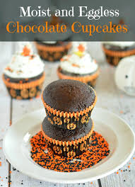 super moist eggless chocolate cupcakes recipe dairy free