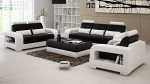 White And Black Sofa Set by Denver Sectional Sofa Set From Opulent Items Ihso2630