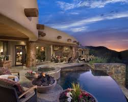 santa fe style homes appealing santa fe style home design traintoball of house ideas and
