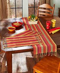 table runner or placemats fiesta cotton table runners or placemats ltd commodities