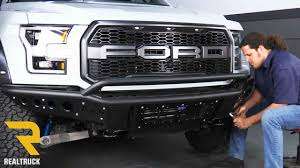 Ford Raptor Bumpers - how to install add stealth front bumper on a 2017 ford raptor at