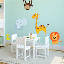 nursery zoo wall decal animal wall decal murals primedecals