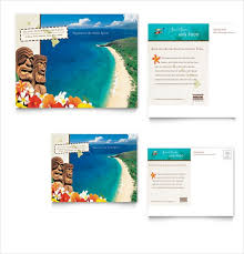 Vacation brochure template