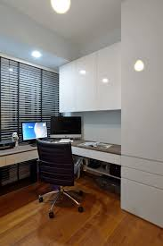 Modern Built In Desk by Apartments Wooden Flooring In Awesome Minimalist Home Office Room