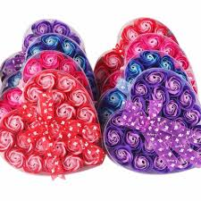 heart shaped items flowers for picture more detailed picture about 24pcs box heart