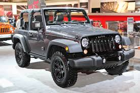 Jeep Rubicon Canada 2014 Jeep Wrangler Willys Wheeler Edition To Make Los Angeles