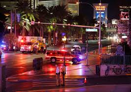 37 injured 1 killed after car hits people on las vegas strip