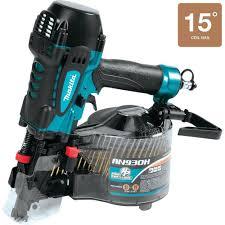 Coil Nails Home Depot by Makita 3 1 2 In 15 High Pressure Framing Coil Nailer An930h