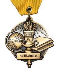 graduation medals salutatorian high school medal gradshop