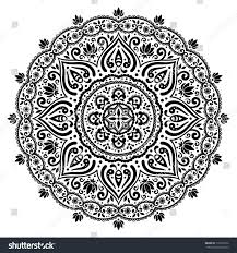 indian ornament stock vector 113222272