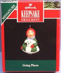 hallmark keepsake ornament winter with snoopy miniature