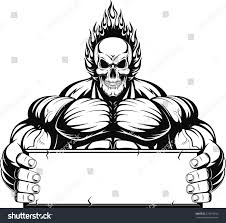 bodybuilder stock vector 275619260 shutterstock