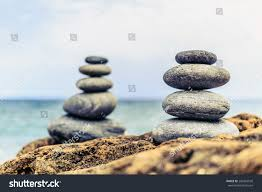 zen inspiration stones balance wellness retro spa concept stock photo 285493550