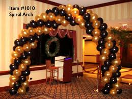 balloon arches balloon arches 1010 spiral balloon arch up with balloons