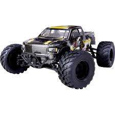 monster truck nitro 4 reely core brushed 1 10 xs rc model car electric monster truck 4wd