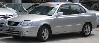 hyundai accent facelift file hyundai accent second generation facelift front