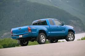 Tacoma Redesign 2005 Toyota Tacoma Review Automobile Magazine