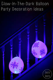 Glow In The Dark Party Decorations Ideas Glowing Balloon Party Decorations U2013 Danya Banya